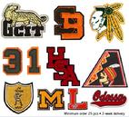 Chenille Varsity Letters and Patches