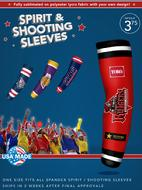 Sublimated Shooting Sleeve Customize