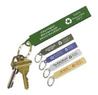 Key Chains - Made from Recycled Newspaper