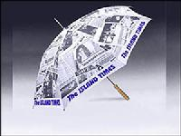 "Newspaper Umbrella - 48"" Arc"