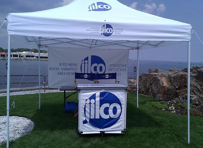 Custom Tent and Displays