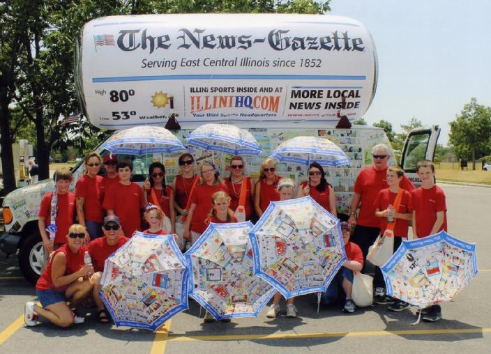 Newspaper Inflatable Balloon Balloons